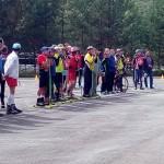 Отправление автобуса к месту проведения соревнований по лыжероллерам