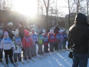 На лыжню встали дети детских садов города