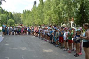 Летняя Спартакиада лагерей с дневным пребыванием детей среди образовательных организаций