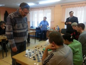Открытый турнир по шашкам
