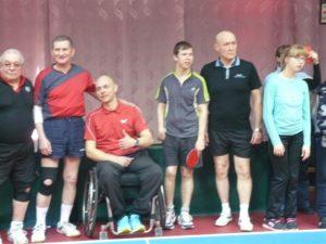 Чемпионат области по настольному теннису среди лиц с поражением опорно-двигательного аппарата
