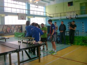 Открытый турнир Асбестовского городского округа по настольному теннису