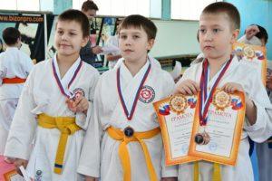 Новогодний турнир по каратэ Асбестовского городского округа