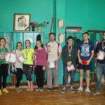 Соревнования по настольному теннису среди учреждений профессионального образования