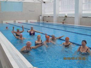 Соревнования по плаванию комплекса ГТО
