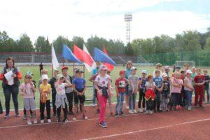 Летняя спартакиада лагерей с дневным пребыванием детей