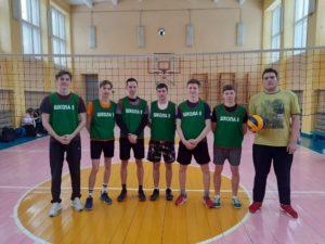 Соревнования по волейболу среди общеобразовательных организаций