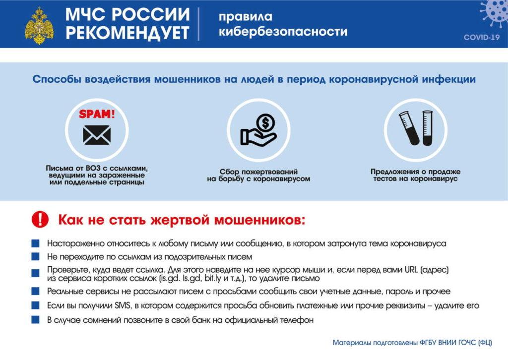Рекомендации МЧС России