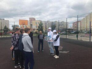 Турнир по мини-футболу среди дворовых команд