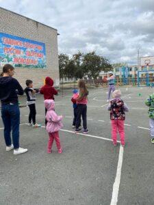 Сельские спортивные игры, посвященные Дню поселка Белокаменный-2021
